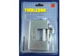 Toolzone Shutter Padlock Solid Brass - 100mm