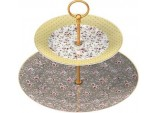 Katie Alice Ditsy Floral Shabby Chic Cake Stand