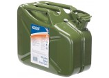 10L Steel Fuel Can (Green)