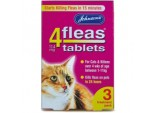 4fleas Tablets for Cats & Kittens - 3 Treatment Pack