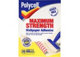 Maximum Strength Wallpaper Adhesive - 20 Roll