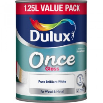 Once Gloss 1.25L - Pure Brilliant White