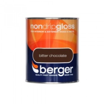 Non Drip Gloss 750ml - Bitter Chocolate