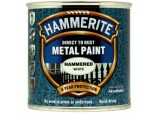 Metal Paint Hammered 250ml - White