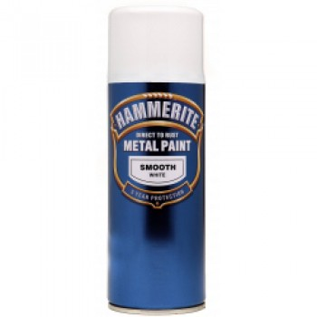 Metal Paint 400ml Aerosol - Smooth White
