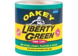 Oakey Liberty Green Rolls - 10m x 115mm PLUS 25% - 60 Grade