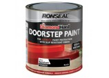 Diamond Hard Door Step Paint 250ml - Black