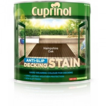 Anti Slip Decking Stain 2.5L - Hampshire Oak