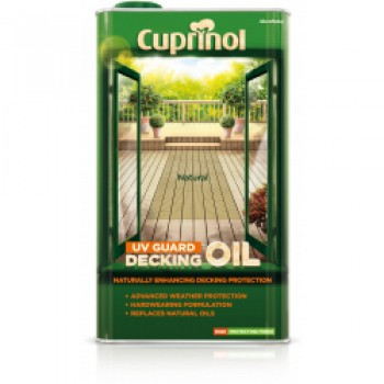 UV Guard Decking Oil 5L - Natural