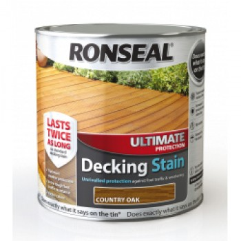 Ultimate Protection Decking Stain 2.5L - Country Oak