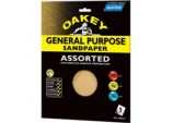 Oakey General Purpose Sandpaper - 280 x 230mm - Coarse