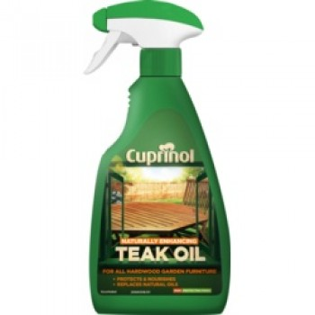 Natural Enhancing Teak Oil Spray Clear - 500ml
