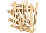 Wooden Dolly Peg - Pack of 24