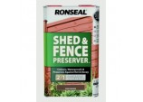 Shed & Fence Preserver 5L - Dark Brown