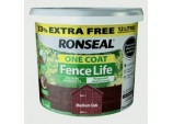 One Coat Fence Life 9L + 33% Free - Medium Oak