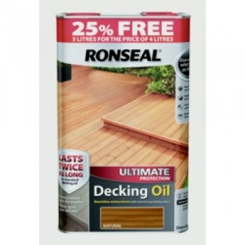 Ultimate Protect Decking Oil 4L + 25% Free - Natural