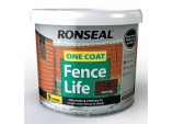 One Coat Fence Life 9L - Dark Oak