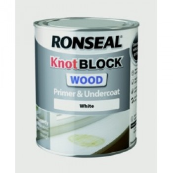 KnotBlock Primer & Undercoat - White 750ml