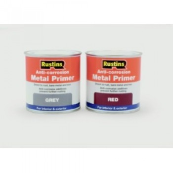 Anti-Corrosion Metal Primer 250ml - Grey