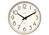 Earl Retro Wall Clock 25cm - Copper
