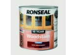 10 Year Woodstain Satin 750ml - Deep Mahogany