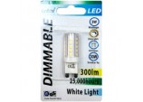 LED Dimmable G9 - 3w/300ml/2700k