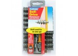 Nylon Self Drive Fixings (50) Drill Driver