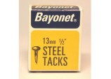 Tacks (Fine Cut Steel) - Blue (Box Pack) - 13mm
