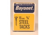 Tacks (Fine Cut Steel) - Blue (Box Pack) - 15mm