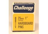 Hardboard Pins (Deep Drive) - Copper Plated (Box Pack) - 25mm