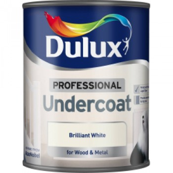 Professional Undercoat 750ml - Brilliant White