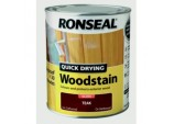 Quick Drying Woodstain Gloss 750ml - Teak