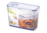 Food Storage Container - Rectangular with Flip Top Lid - 2.4L (237 x 112 x 170mm)