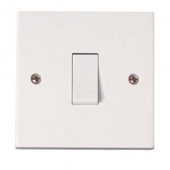 10A, 1 Gang 2 Way Switch to BS3676 - Pre-Packed
