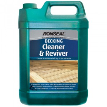 Decking Cleaner & Reviver - 5L
