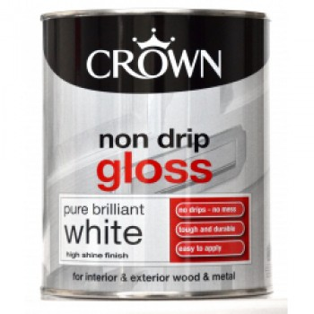 Non Drip Gloss 750ml - Pure Brilliant White