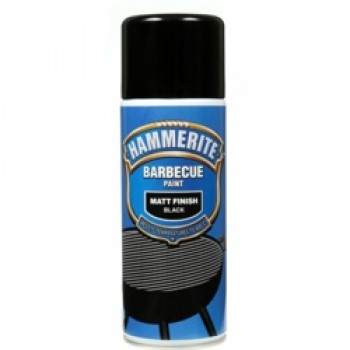 Barbecue Paint 400ml Aerosol - Matt Black