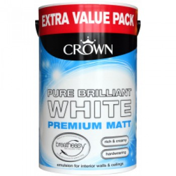 Matt Emulsion 6L - Pure Brilliant White