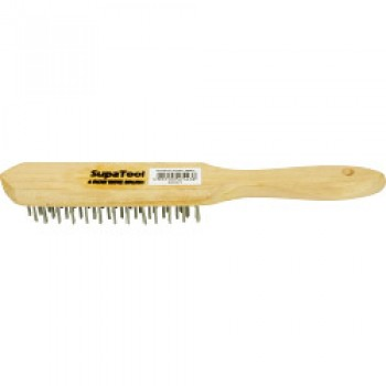 Wire Brush - 4 Rows