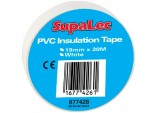 PVC Insulation Tape Pack 10 - White 20 Metre