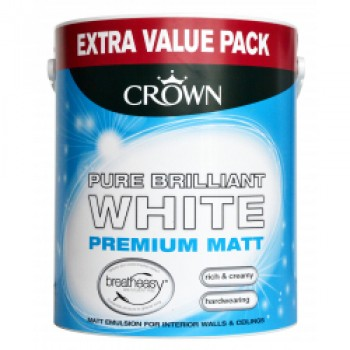 Matt Emulsion 3L - Pure Brilliant White