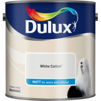 Matt 2.5L - White Cotton