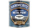 Metal Paint Hammered 750ml - White