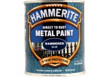 Metal Paint Hammered 750ml - Blue