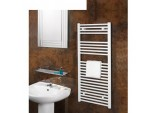 Chrome Straight Towel Rail - 600 X 800mm
