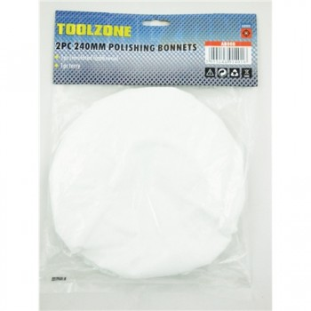 Polishing Bonnets, 2 piece by Toolzone