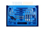 Airbag Removal Tool Kit, 12 piece by Toolzone