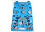 18 Piece Brake Caliper Piston Rewind/Wind Back Tool by Toolzone