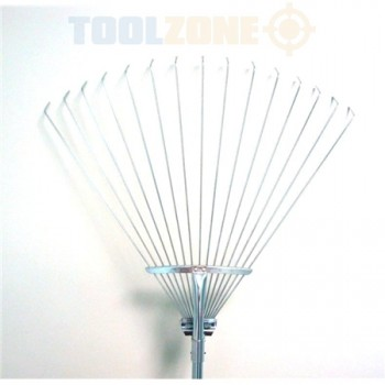 Quality Adjustable Lawn Rake by Toolzone