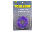 2mm Strimmer Line Garden Lawn Wire by Toolzone